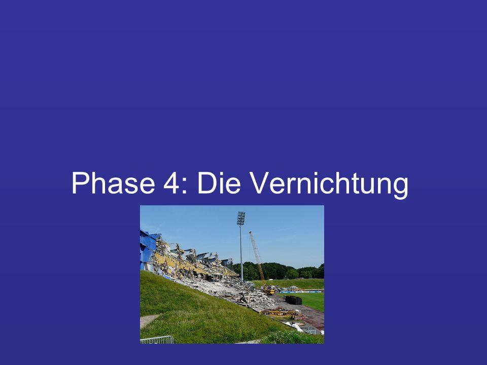 Phase 4: Die Vernichtung