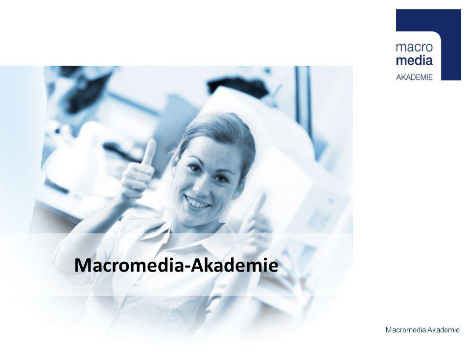 Macromedia Akademie Macromedia-Akademie
