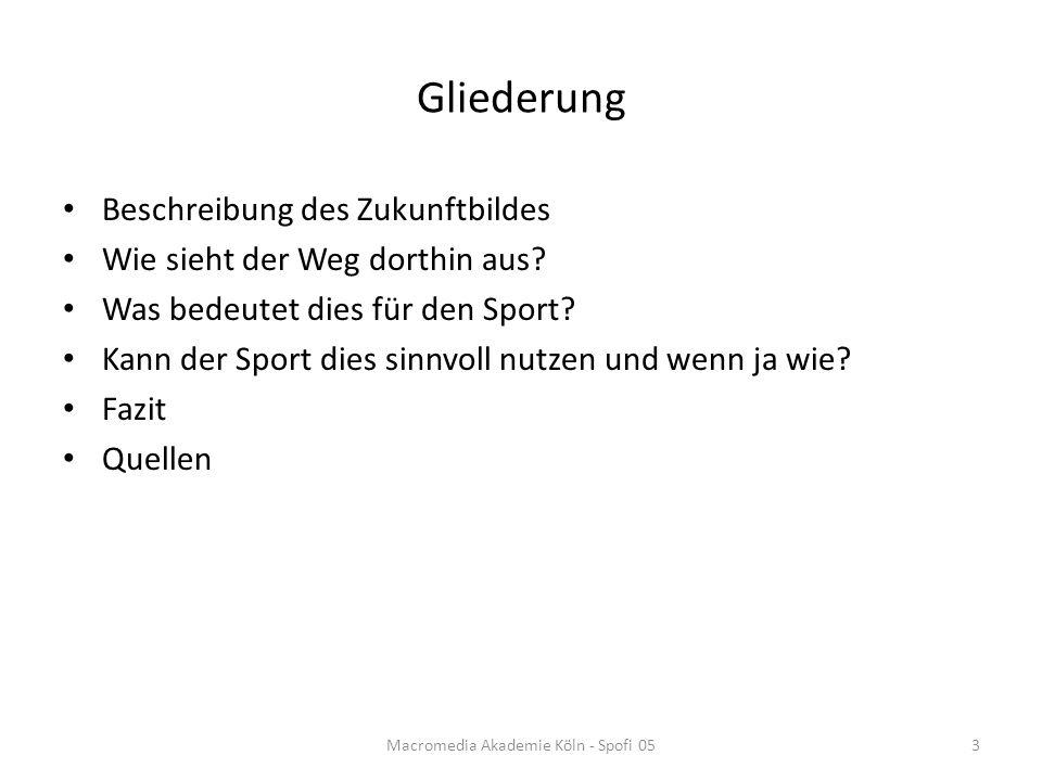 Beschreibung des Zukunftsbildes Große Sponsoring und Marketingmöglichkeiten E-Sports-Sender bzw.