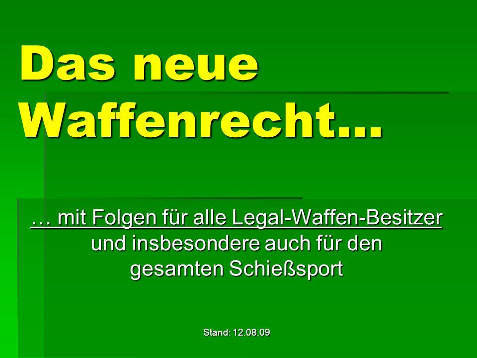 Was macht der Deutsche Schützenbund (DSB) und seine Landesverbände für uns Sportschützen.