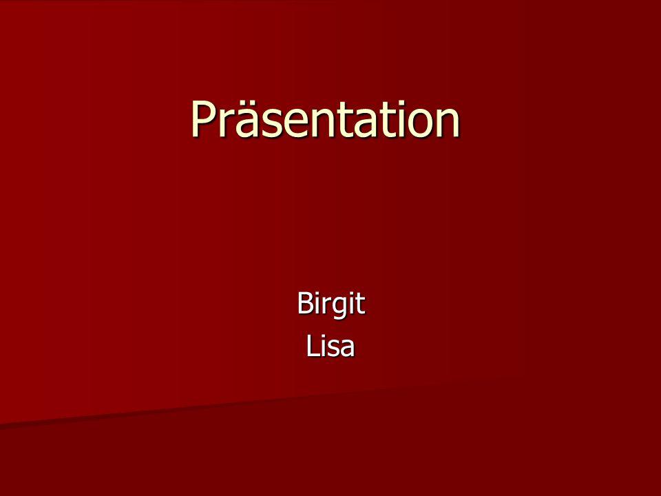 Präsentation BirgitLisa