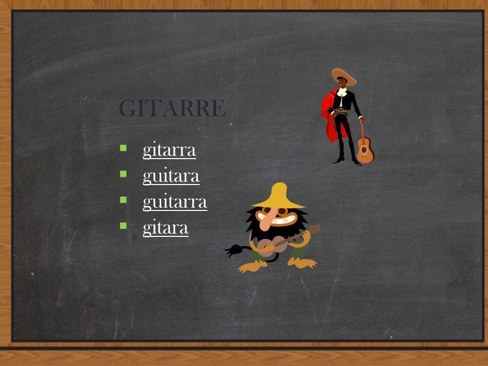 GITARRE  gitarra gitarra  guitara guitara  guitarra guitarra  gitara gitara