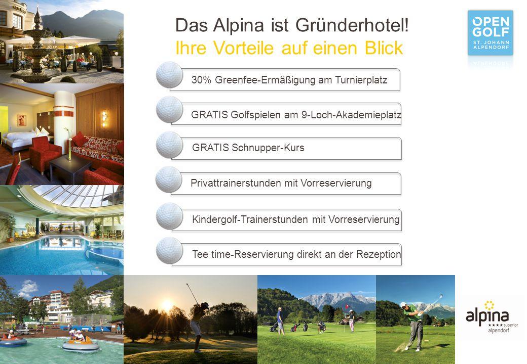 Das Alpina ist Gründerhotel.