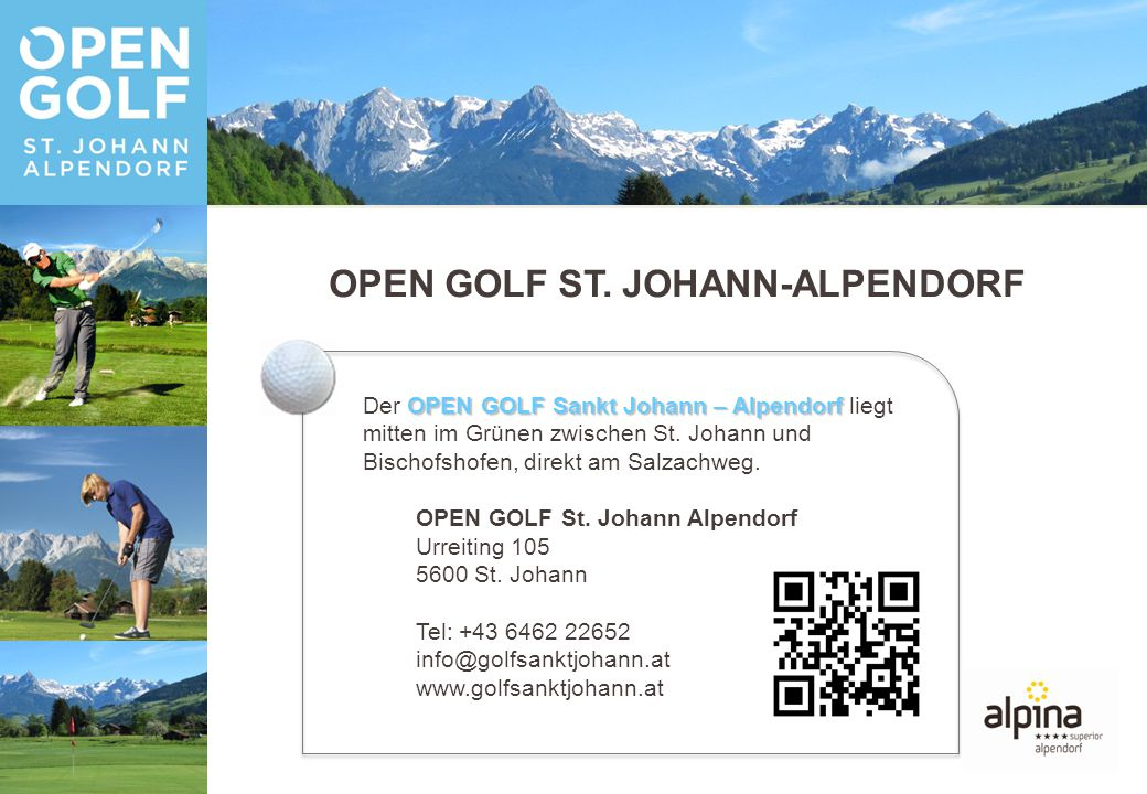 OPEN GOLF ST.