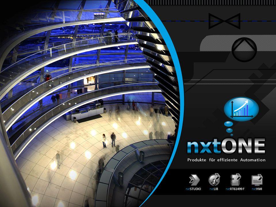 Produkte für effiziente Automation nxtSTUDIOnxtLIBnxtRT61499 FnxtHMI