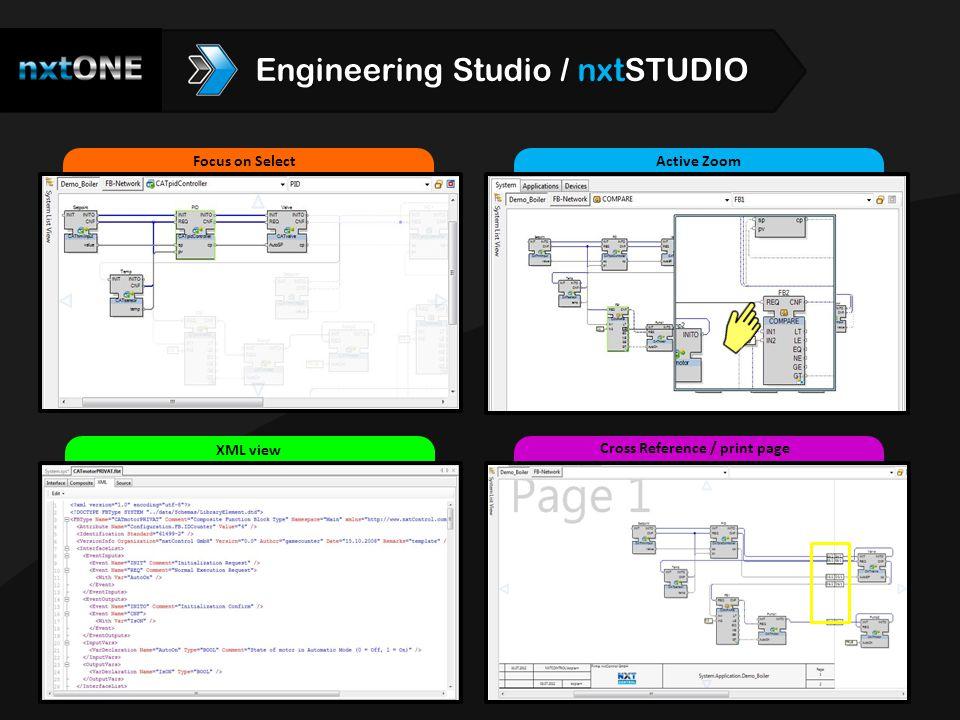 Intellisense Cross Referencing Watch ECC Engineering Studio / nxtSTUDIO