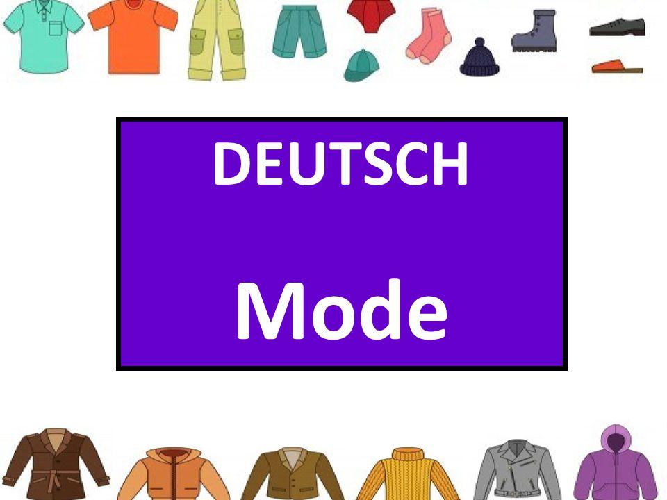 DEUTSCH Mode