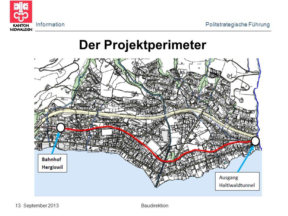 Information Regierungsrat 12.6.2012 Baudirektion Detailaspekte einzelner Varianten (2)