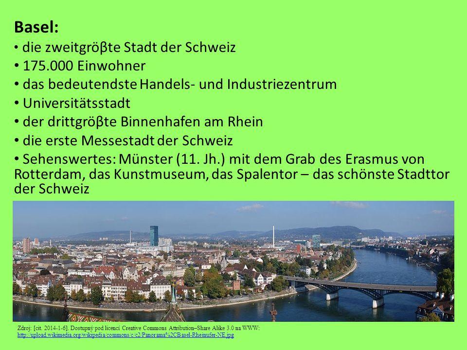 Basel – Münster Zdroj: [cit.2014-1-6].