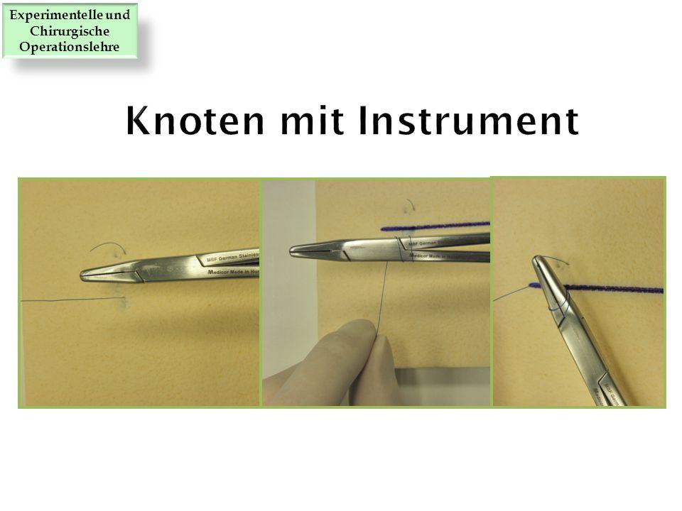 Experimentelle und Chirurgische Operationslehre