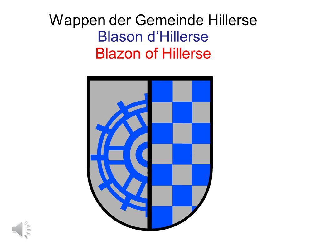 Wappen der Gemeinde Hillerse Blason d'Hillerse Blazon of Hillerse