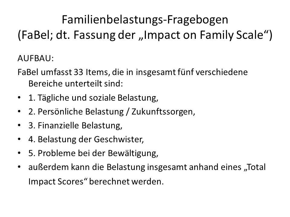 Familienbelastungs-Fragebogen (FaBel; dt.