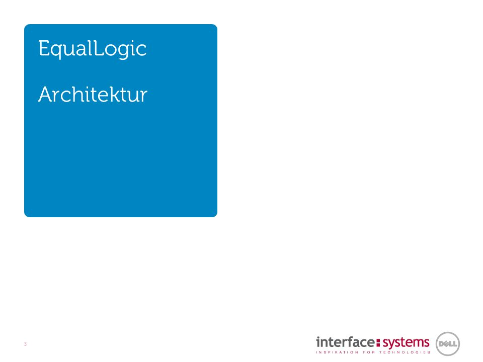 EqualLogic Architektur 3