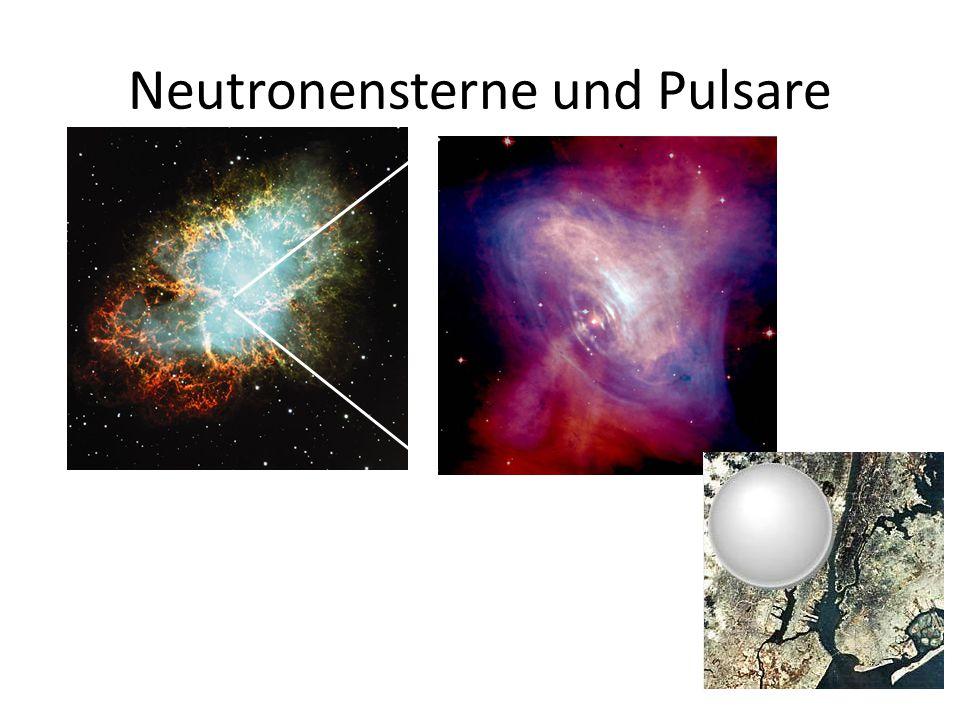 Neutronensterne und Pulsare
