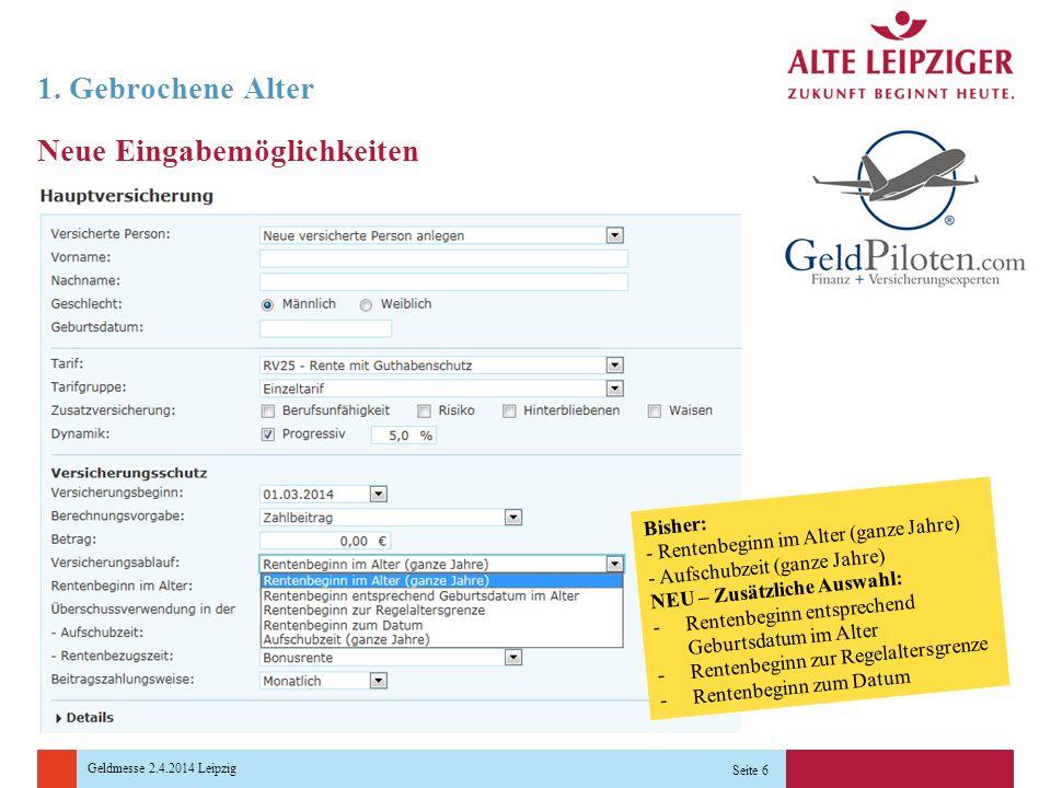 Geldmesse 2.4.2014 Leipzig 1.