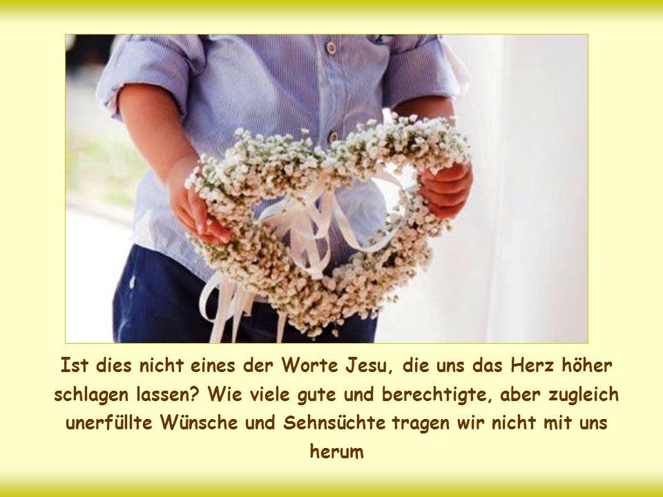 """""""Alles, was zwei von euch auf Erden gemeinsam erbitten, werden sie von meinem himmlischen Vater erhalten. Denn wo zwei oder drei in meinem Namen versa"""