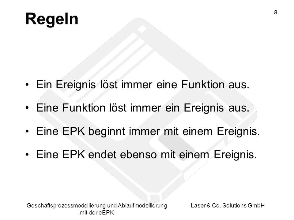 9 Geschäftsprozessmodellierung und Ablaufmodellierung mit der eEPK Laser & Co.