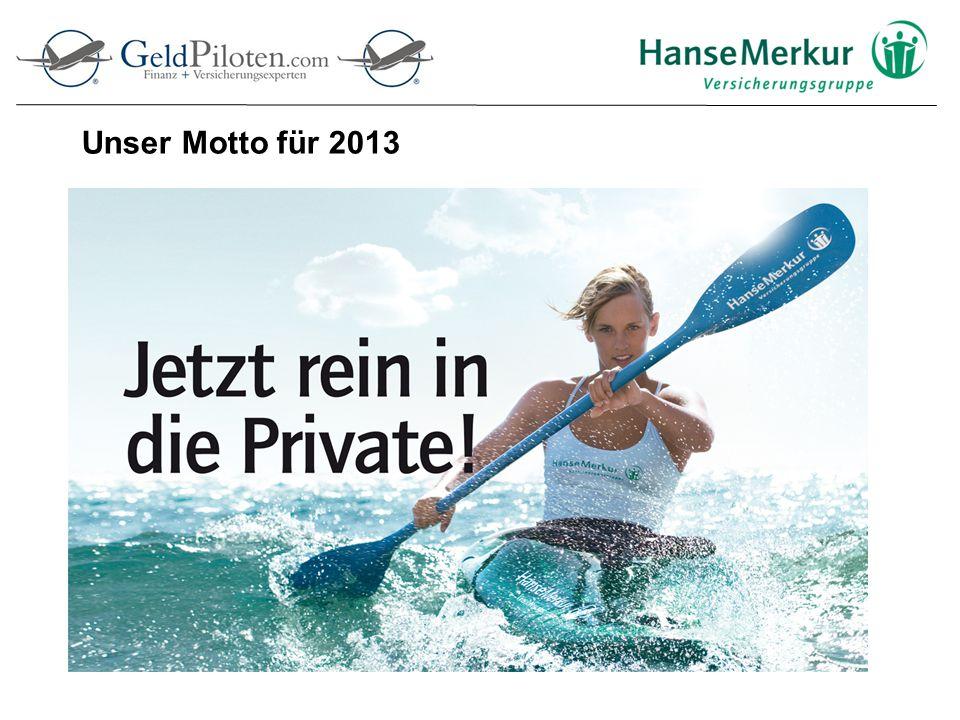 Unser Motto für 2013
