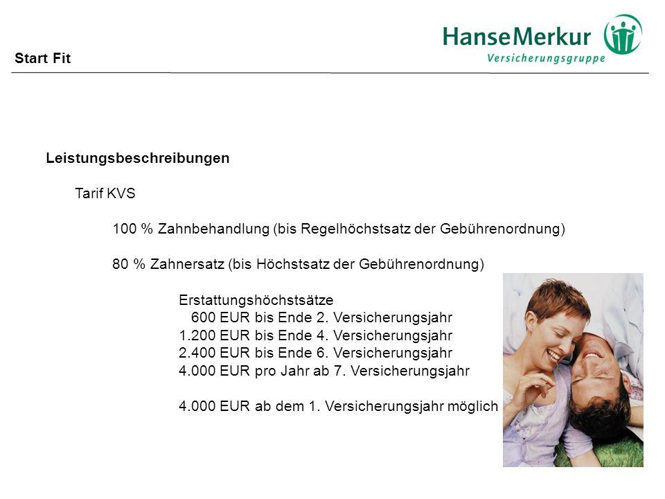 Leistungsbeschreibungen Tarif KVS, PSV 100 % stationär allgemeine Pflegeklasse 100 % ambulante Operationen optional Neu .