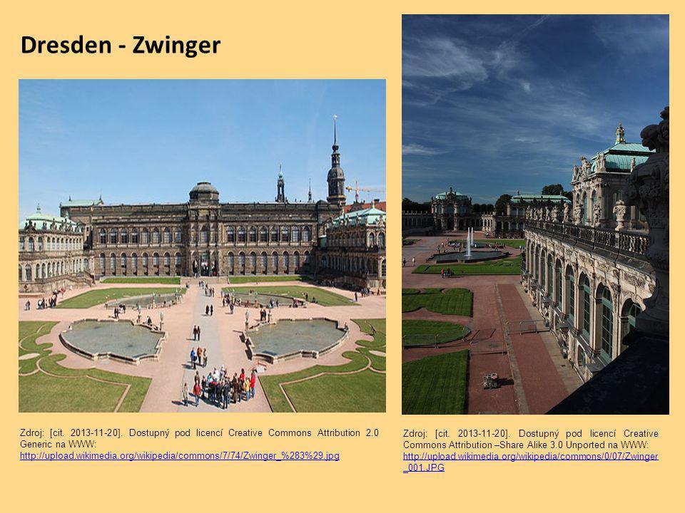 Dresden - Zwinger Zdroj: [cit. 2013-11-20].