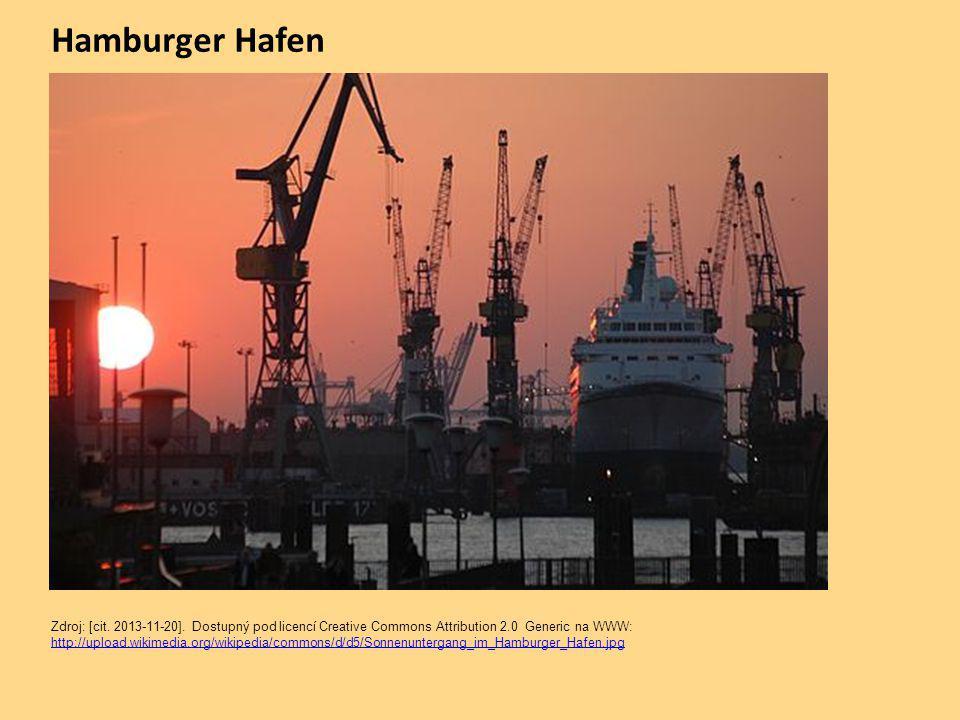Hamburger Hafen Zdroj: [cit. 2013-11-20].