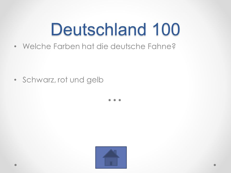 Deutschland 100 Welche Farben hat die deutsche Fahne? Schwarz, rot und gelb