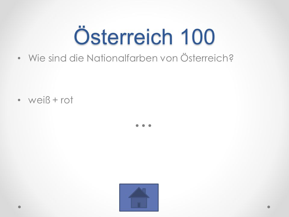 Österreich 100 Wie sind die Nationalfarben von Österreich? weiß + rot