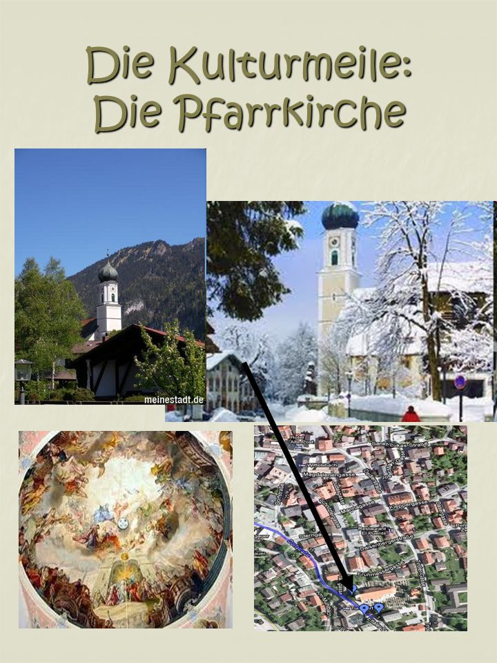 Die Kulturmeile: Die Pfarrkirche