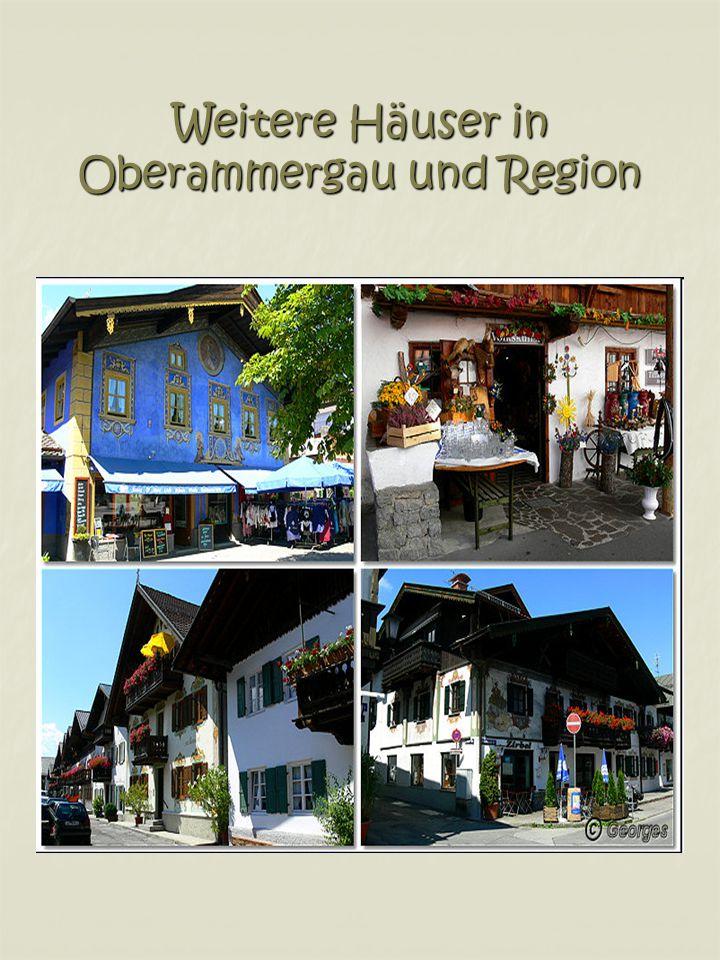 Weitere Häuser in Oberammergau und Region