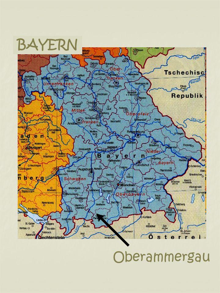 BAYERN Oberammergau