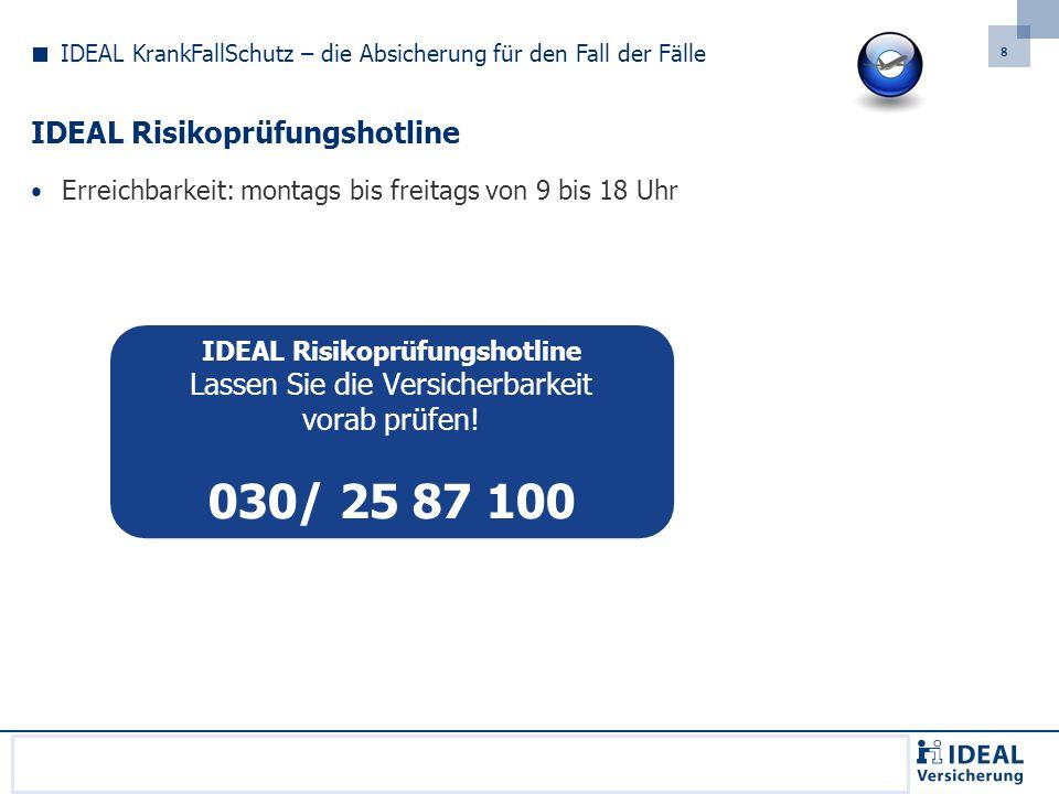 8 Sollten Sie sich verspätet zugeschaltet haben, wählen Sie bitte folgende Telefonnummer, um an der Telefonkonferenz teilzunehmen: 089/121 40 59 00.