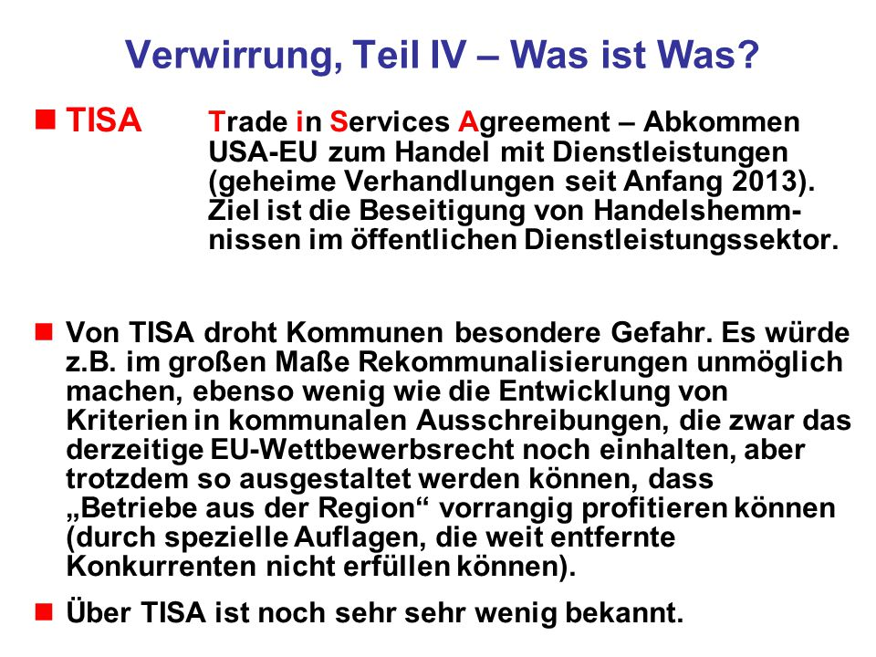Ein Beispiel für Begünstigungen, die US- Firmen schon heute in Deutschland genießen aus Bundesgesetzblatt Teil II, Nr.