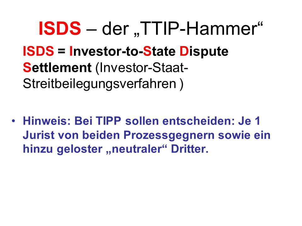 www.linksfraktion.de/ttip-stoppen10 Künftige Gesetzgebung und Standardsetzung in der EU.