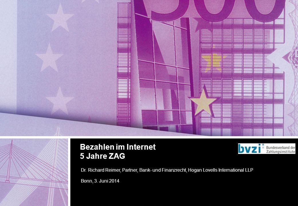 September 2011 Introducing our global banking practice Finanzierung durch Bankkredite Frankfurt am Main, […] 2013 Dr.