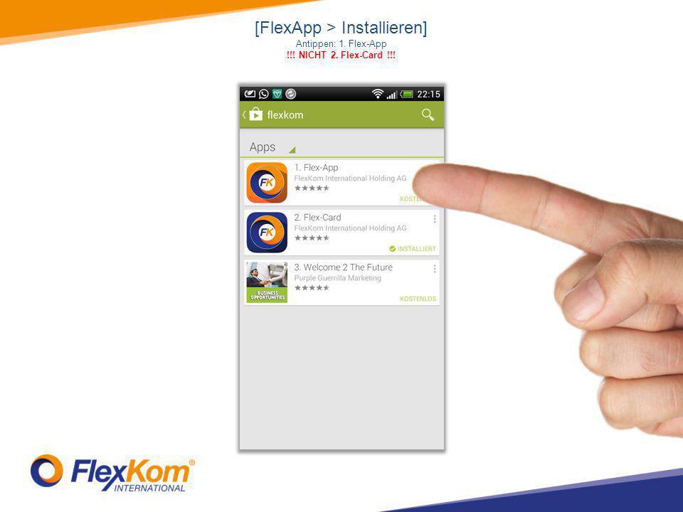 """FlexCall KOSTENLOS ANRUFEN von FlexCall zu FlexCall Um diese Funktion zu nutzen, bitte über das Menü > """"Kontakte oder über das Menü > """"Telefon , dann """"Mensch -Symbol"""