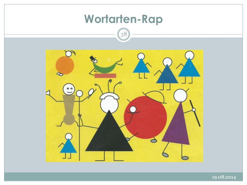 Wortarten-Rap 19.08.2014 38