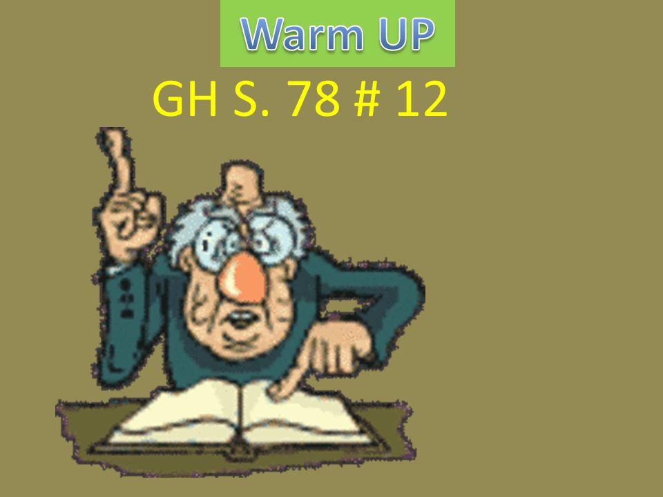 GH S. 78 # 12