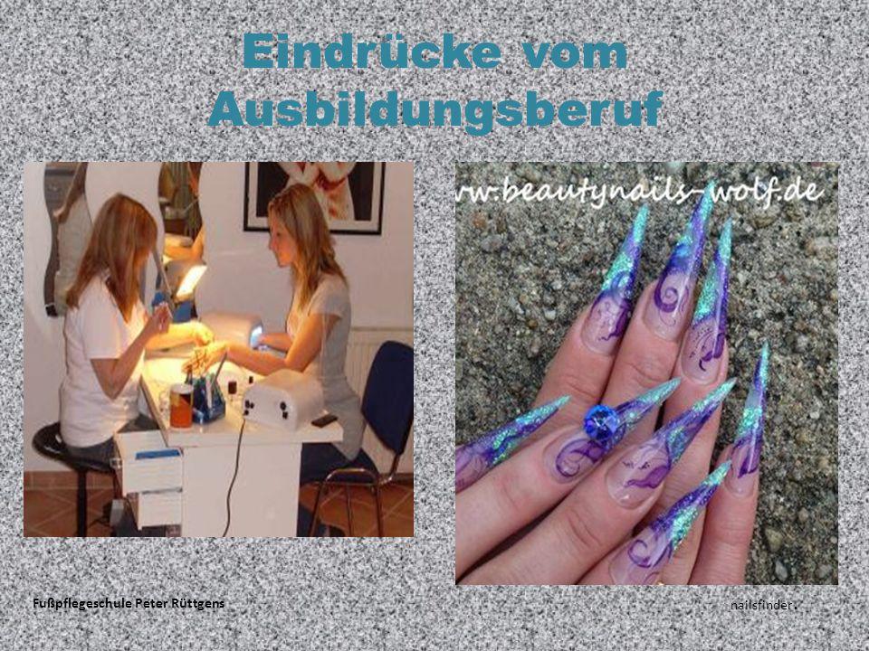 Eindrücke vom Ausbildungsberuf Fußpflegeschule Peter Rüttgens nailsfinder.