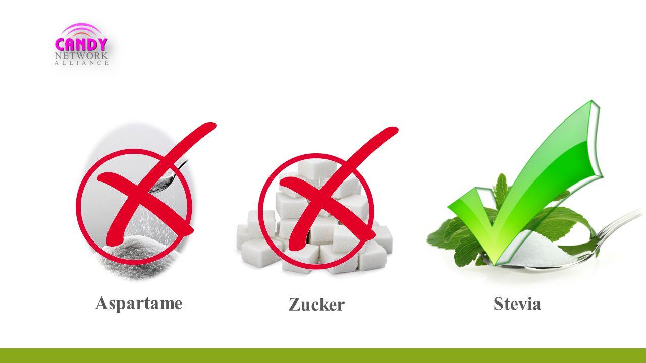 Aspartame Zucker Stevia