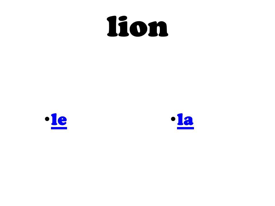 lion le la