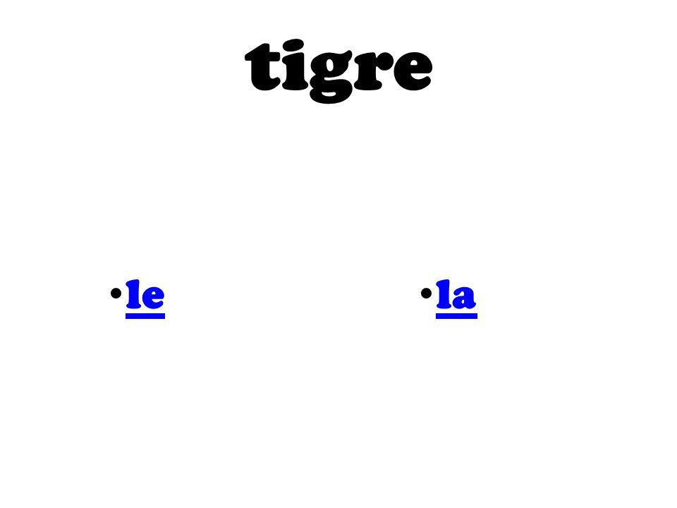 tigre le la