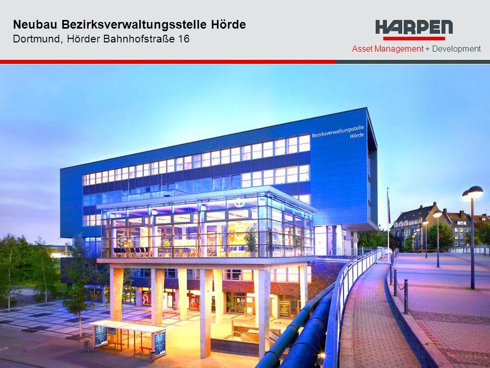 Asset Management + Development Neubau Bezirksverwaltungsstelle Hörde Dortmund, Hörder Bahnhofstraße 16