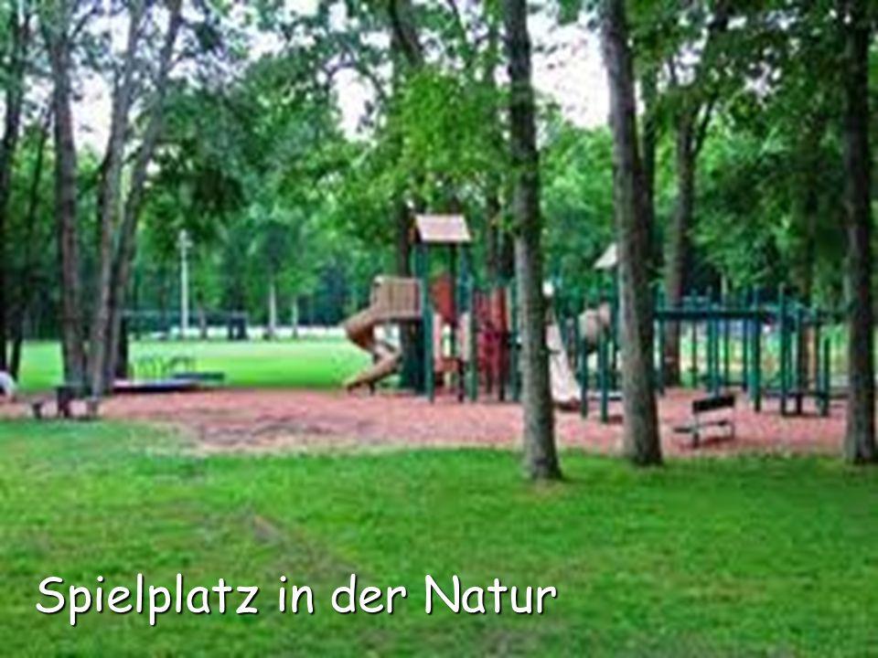 Spielplatz in der Natur