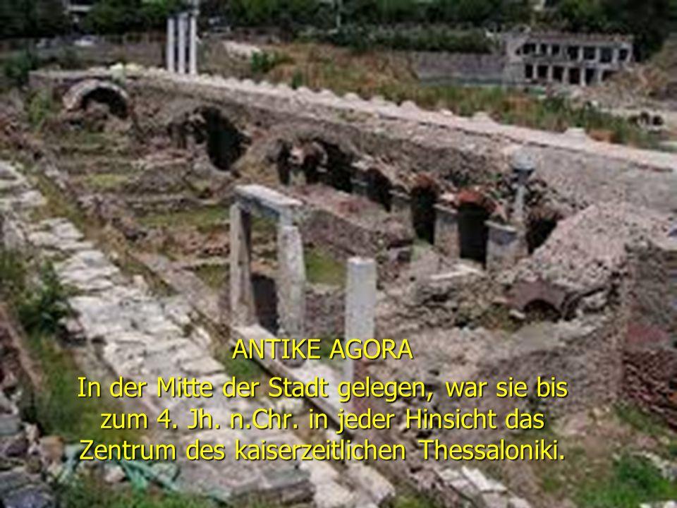DER ARISTOTELES PLATZ ist einer der wichtigsten Plätze in Thessaloniki.