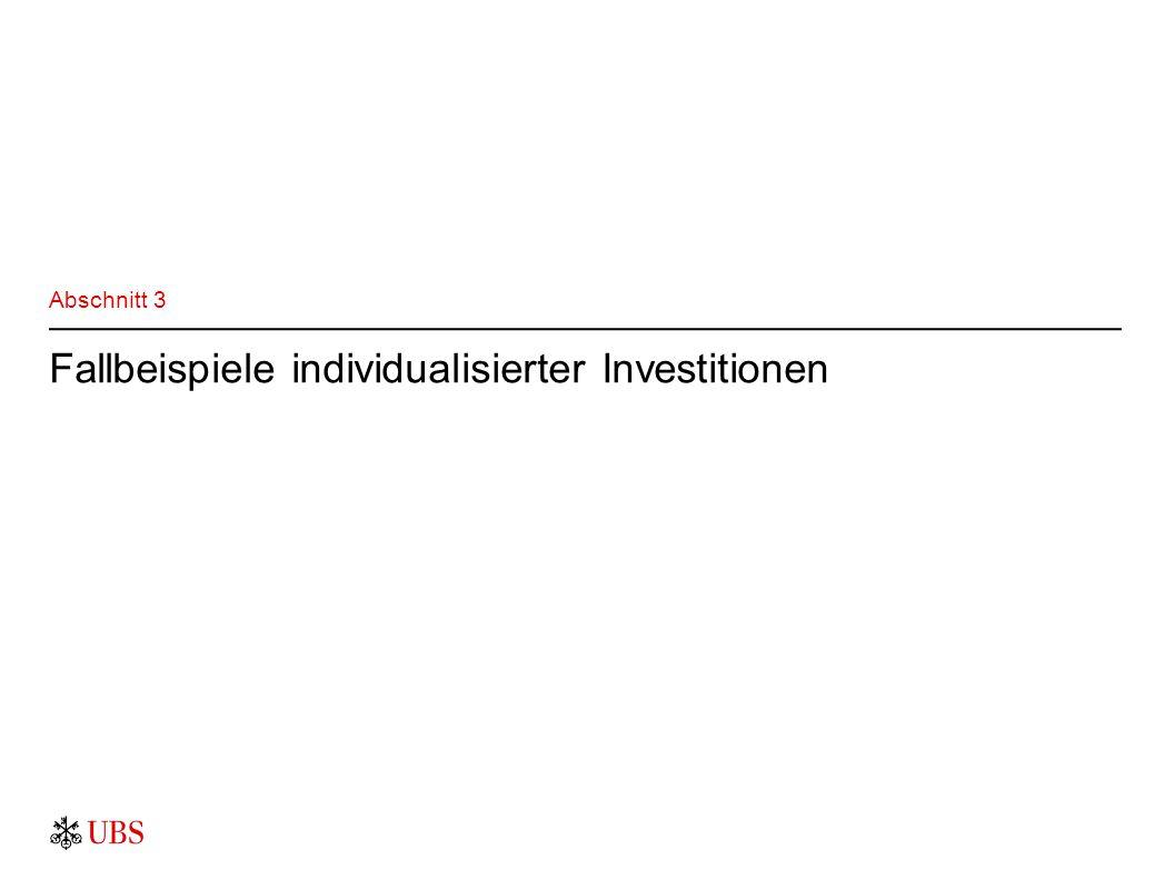 Fallbeispiele individualisierter Investitionen Abschnitt 3