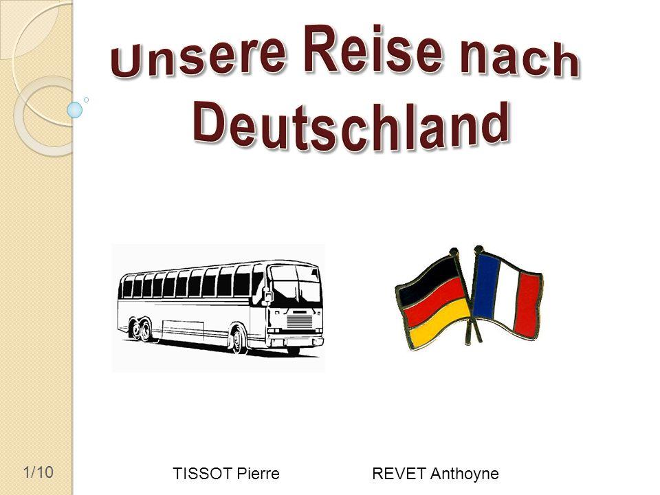 2/10 Busfahrt, Empfang in den Familien Erster Tag: die Reise 14.
