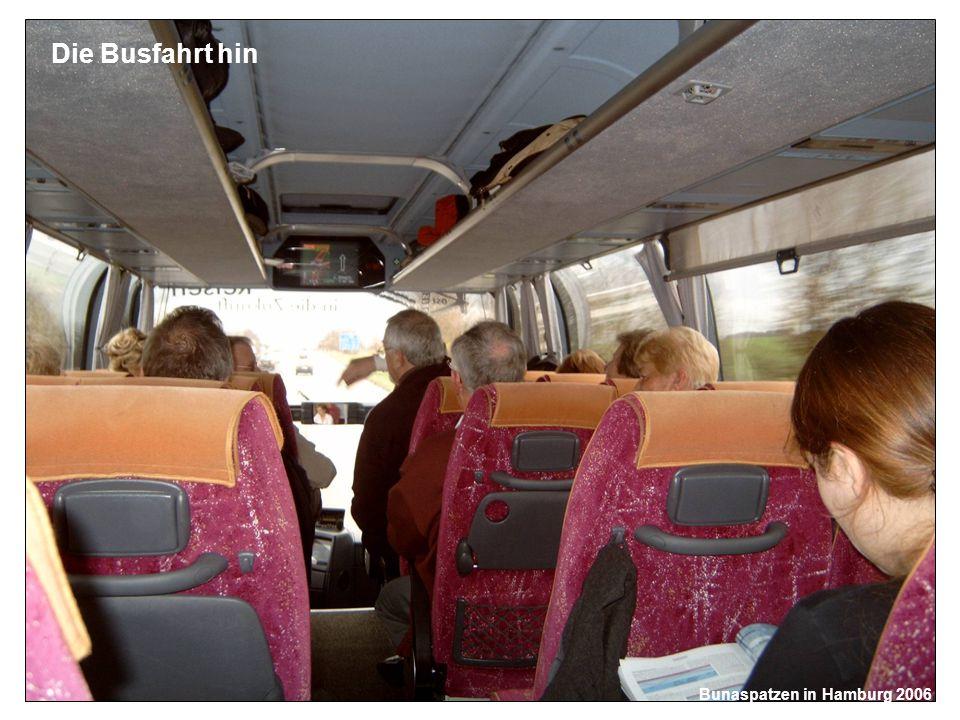 Die Busfahrt hin