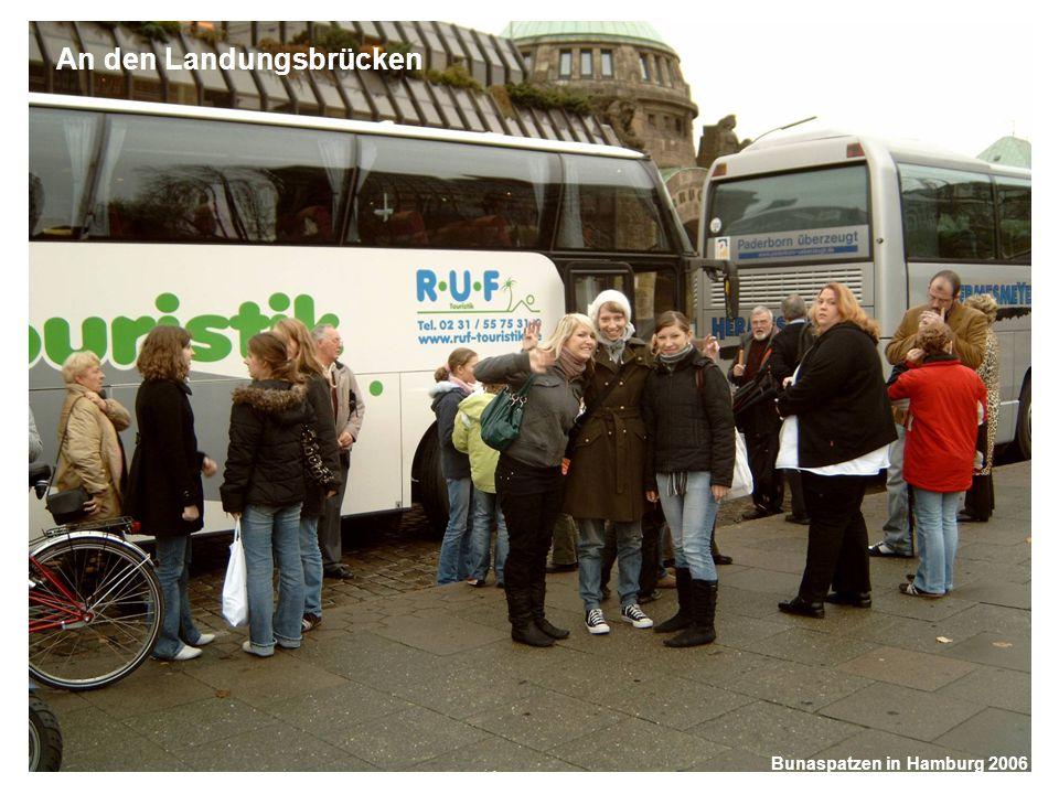 Bunaspatzen in Hamburg 2006 Die Schifffahrt Bunaspatzen in Hamburg 2006