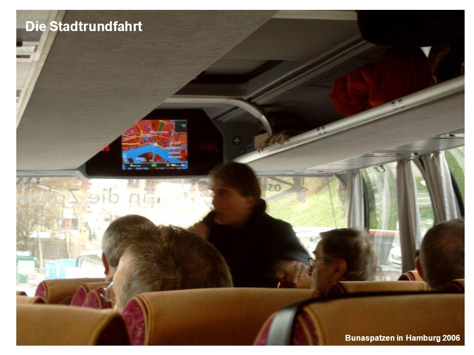 Bunaspatzen in Hamburg 2006 Das Taxi zum Musical