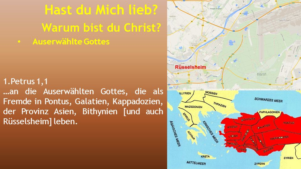 5.Mose 7,6-15 (1) 6 Denn du bist dem HERRN, deinem Gott, ein heiliges Volk.